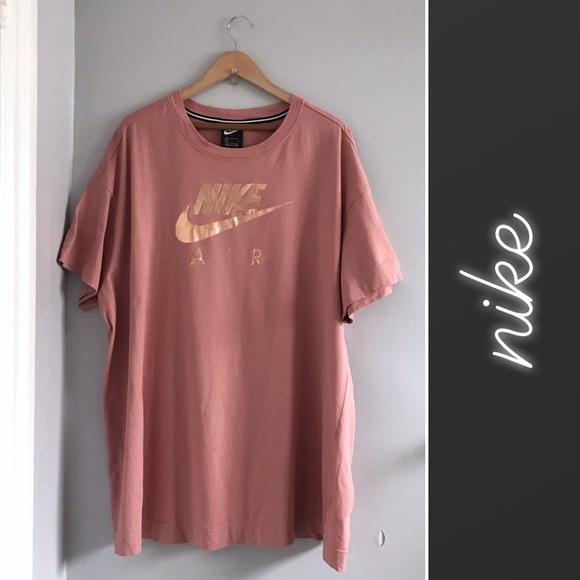 t-shirt nike rose